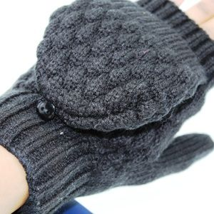 isotoner Women's Flip Top Mittens with Palm Patch